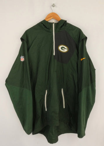 Nike Greenbay Packers Windbreaker (XXL)