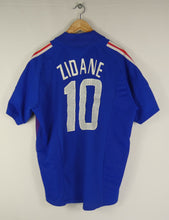 Load image into Gallery viewer, 2002-04 Adidas France Jersey (Home) (M) (Zidane 10)