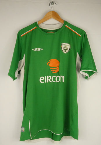 2004-06 Umbro Ireland Jersey (Home) (L)