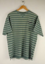 Load image into Gallery viewer, Vintage Reebok Striped T-Shirt (M)