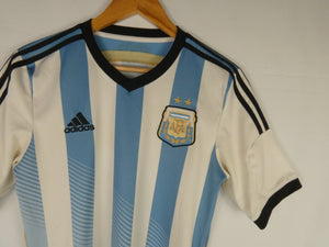 2014 Adidas Argentina Jersey (Home) (S)