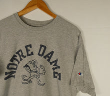 "Load image into Gallery viewer, Champion ""Notre Dame"" T-Shirt (XL)"