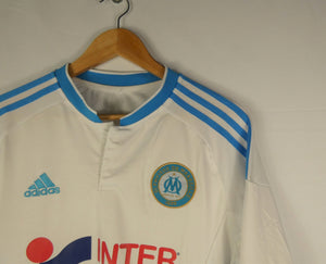 2015-16 Adidas Marseille Longsleeve Jersey (Home) (L)