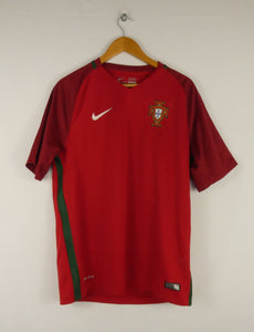 2016 Nike Portugal Jersey (Home) (L)