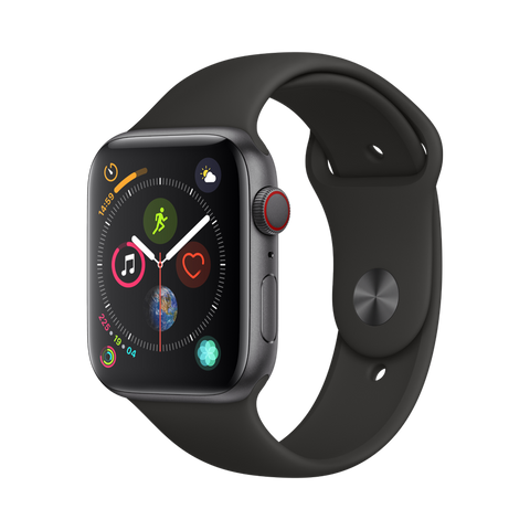 Apple Watch Series 4, 44mm Space Gray (GPS + Cellular)