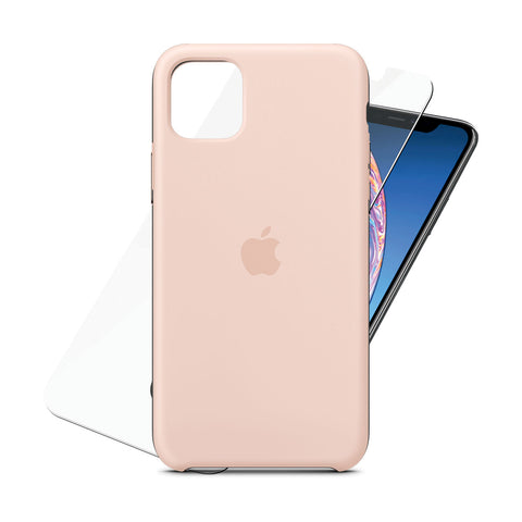 Silicone Case Pink for iPhone 11 Pro Max