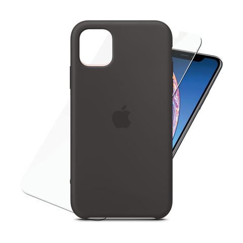 Silicone Case Black for iPhone 11