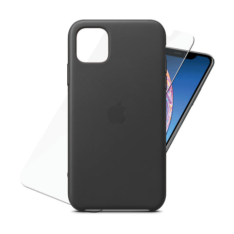 Leather Case Black for iPhone 11 Pro Max