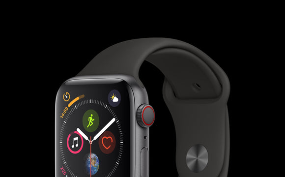 Apple Watch Series 4, Space Gray 44mm (GPS + Cellular)