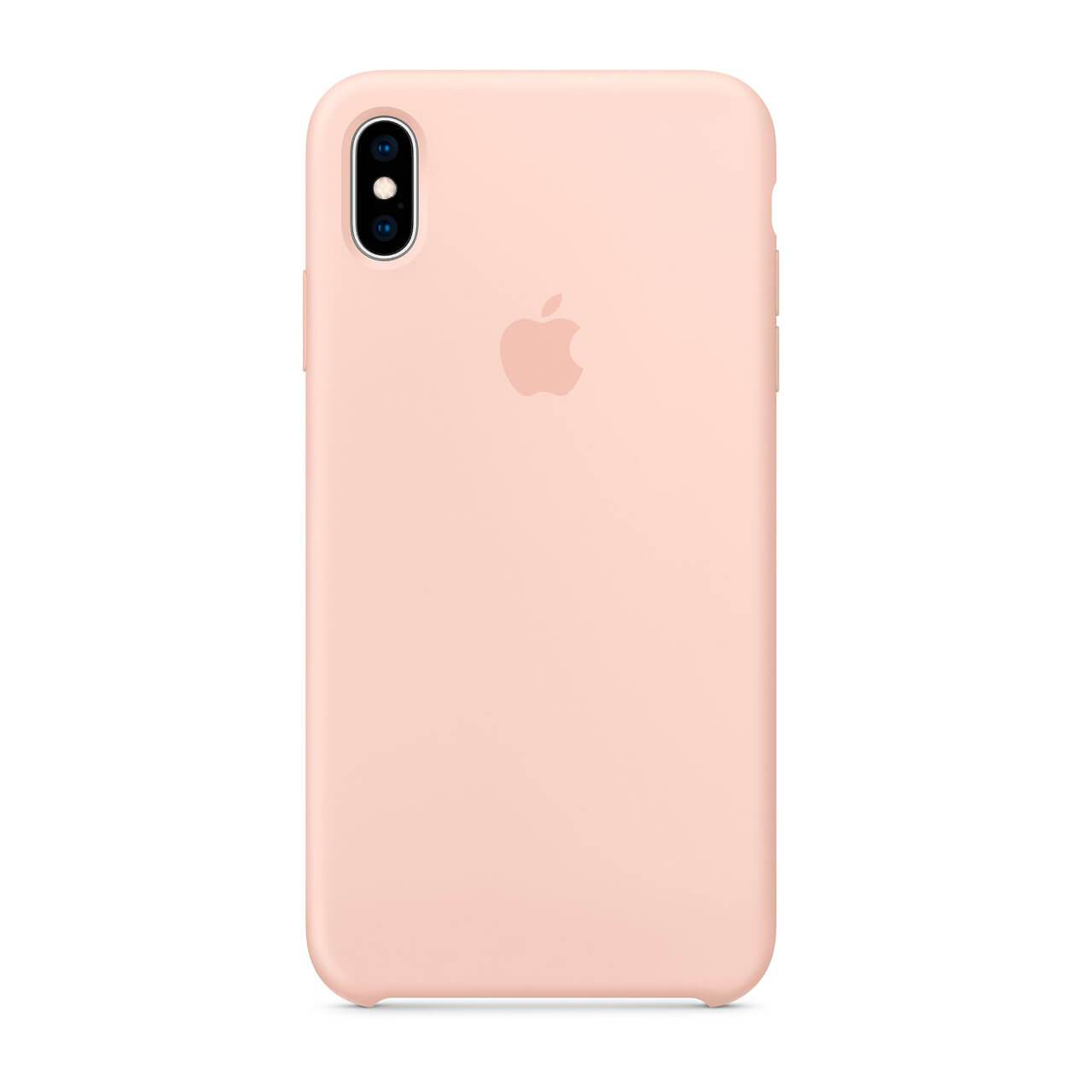 Silicone Case Pink iPhone XS Max