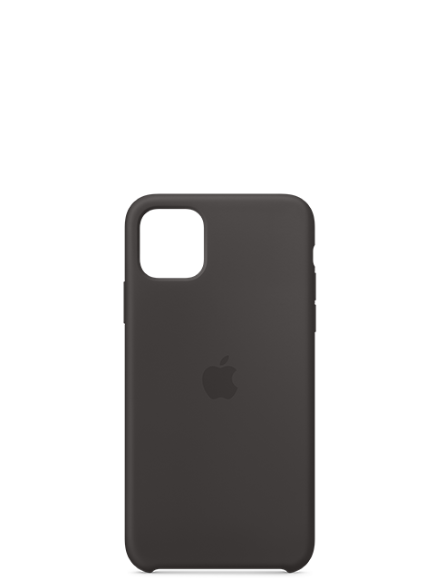 Silicone Case Black for iPhone 11 Pro Max