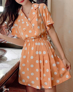 CIDRA polka dot dress