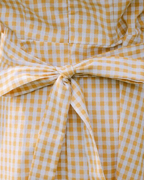 KLEIN gingham dress