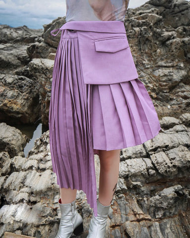BENA pleat skirt
