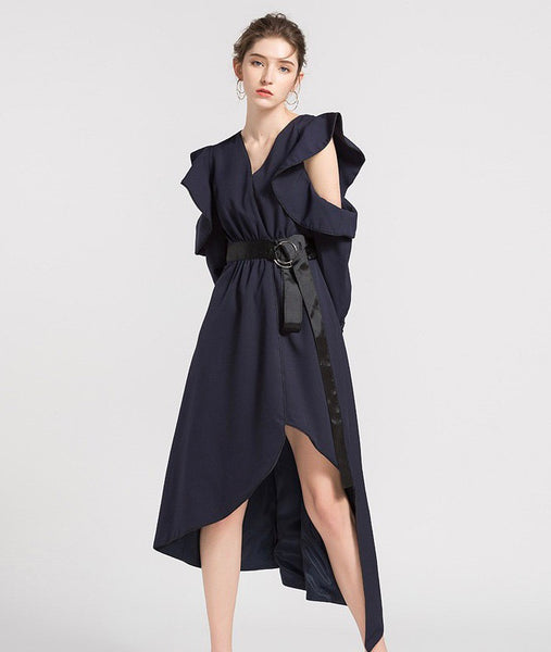 JANSEN ruffle dress