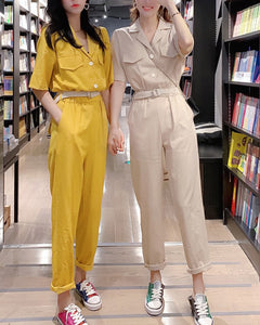 OPPELO buttoned jumpsuit