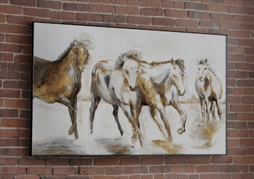 Caballos Limited Edition Painting