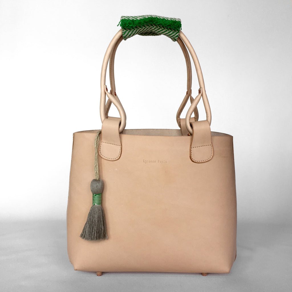 Hand Woven Handle limited Edition for Bag by Lysanne Pepin
