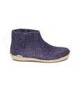Glerups Purple Felt Low Boots
