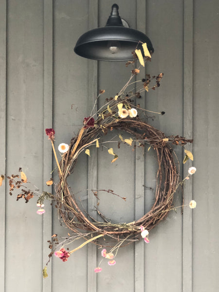 BOHÈME WREATH  FLORAL ARRANGEMENT
