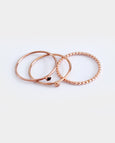 Harakiri Lucy set of 3 Rings