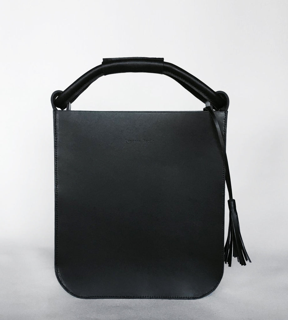 The Skipper Bag in Black by Lysanne Pepin Limited Edition