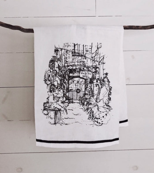 Tea Towel Christmas Market