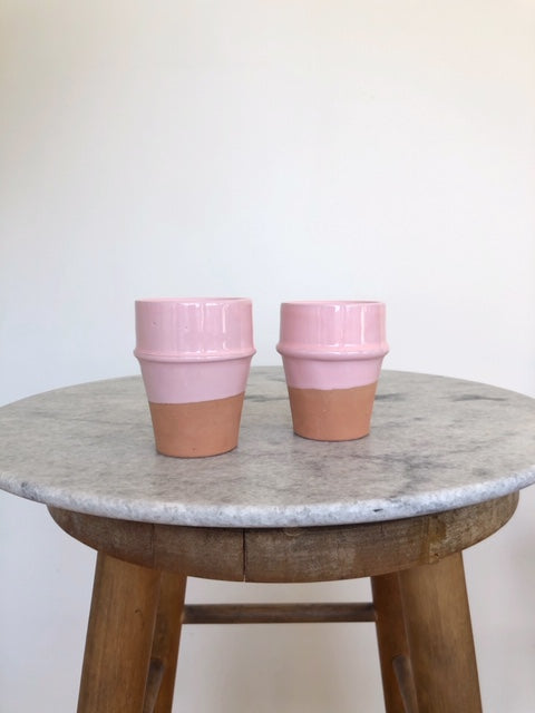 Set of 2 Beldi Terracotta Cup