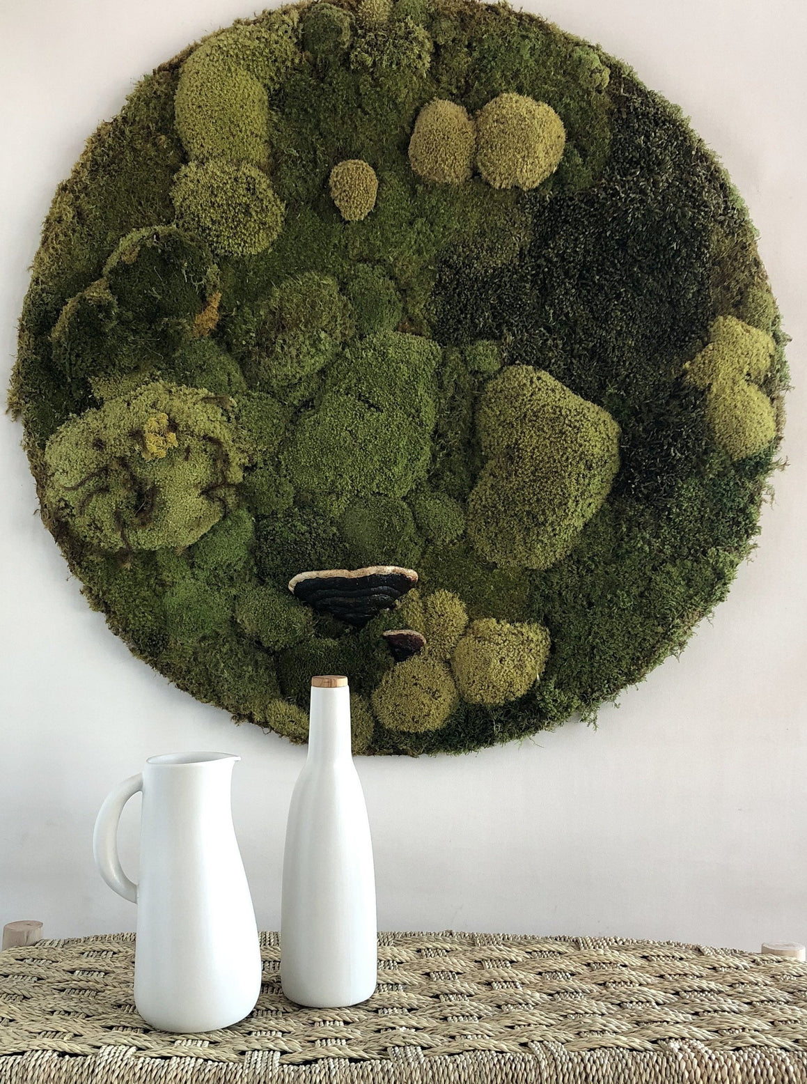 Moss Botanical Sphere