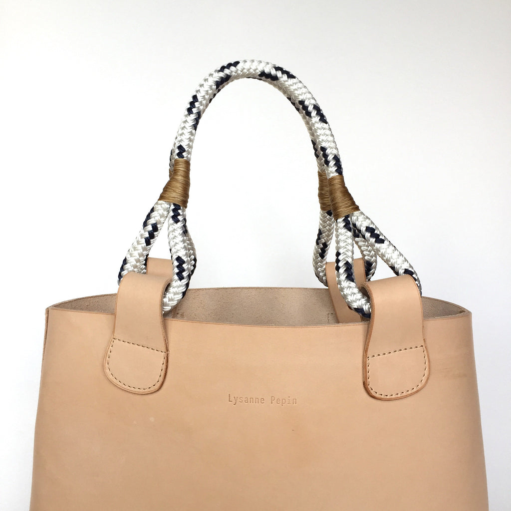 Anchor Bag in Natural by Lysanne Pepin Limited Edition