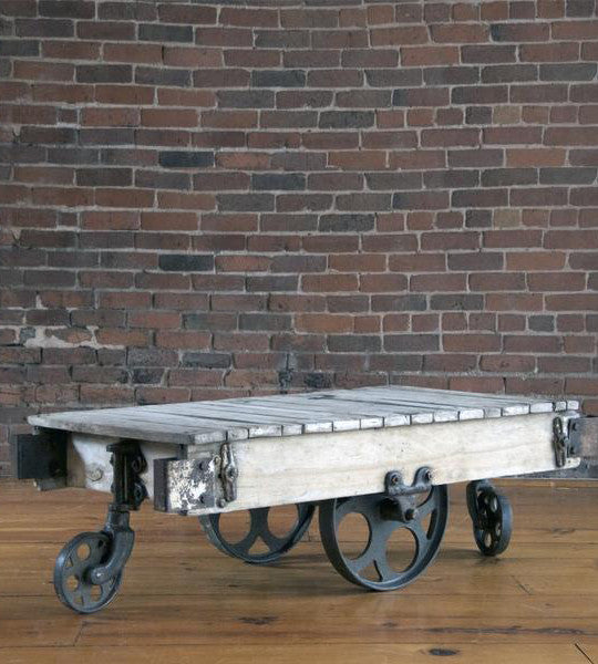Antique Industrial Cart
