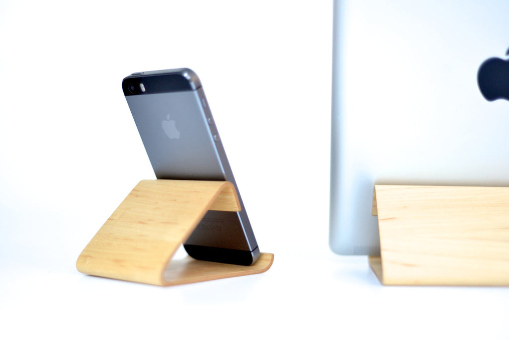 Support pour iPad en bois  - iPad Wood Stand