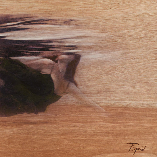 'Breathe' Art on Wood