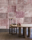 Patchwork Wallpaper - Papier Peint Patchwork