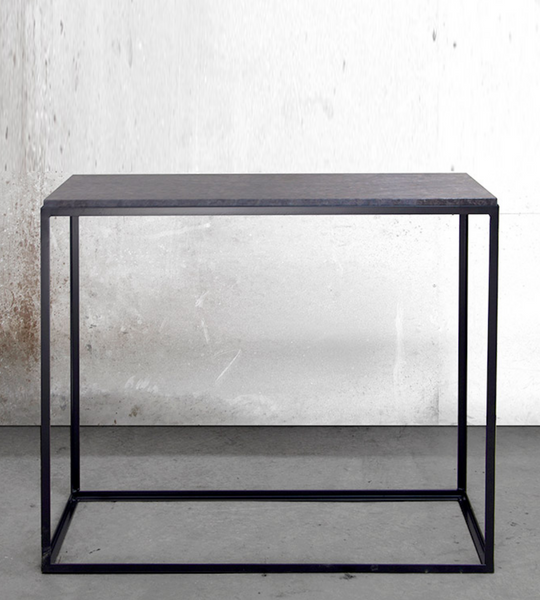 Console Table KUB Marble & Metal