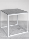 Side Table KUB Marble & Metal