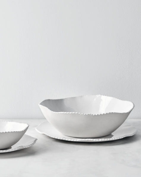 Lace Edge Dinnerware