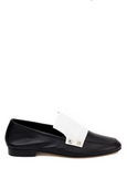 Atelier Calista Flat shoes Black and White