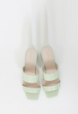 INTENTIONALLY BLANK STEP IN HEEL PASTEL