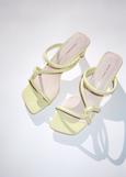 INTENTIONALLY BLANK WILLOW SANDAL LEMON