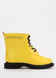 Ilse Jacobsen Short laced Rubber Rain Boot