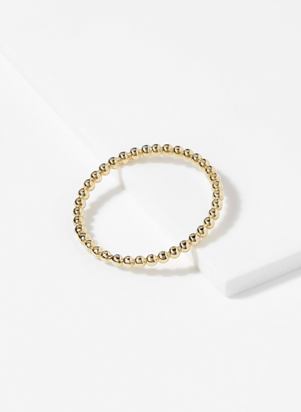BEAD IT RING Solid Gold