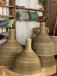 Seagrass Chimney Basket Lampshade