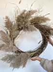TOWNSHIP WREATH  FLORAL ARRANGEMENT