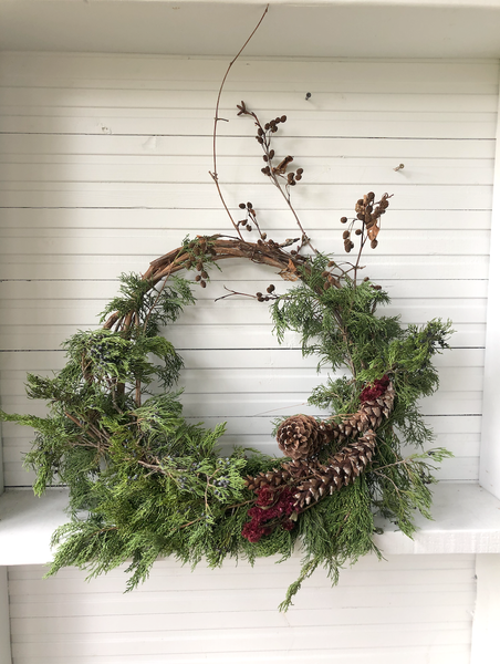 JUNIPER WREATH ARRANGEMENT