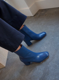 Intentionally Blank Janetta Boot Blue