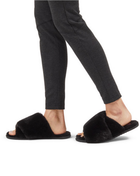 WOMEN'S SOREL GO™ - MAIL RUN SLIPPER BLACK