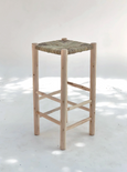 BOHO SIMPLE WOVEN COUNTER TOP STOOL | PRE ORDER