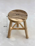 Walnut Eucalyptus Stools - Side Table | Pre-Order