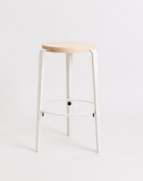 MI LOU mid-high stool - solid wood by TIPTOE